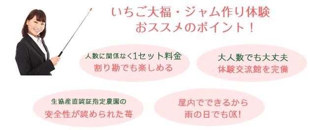 前田いちご園のいちご大福・ジャム作りおすすめポイント